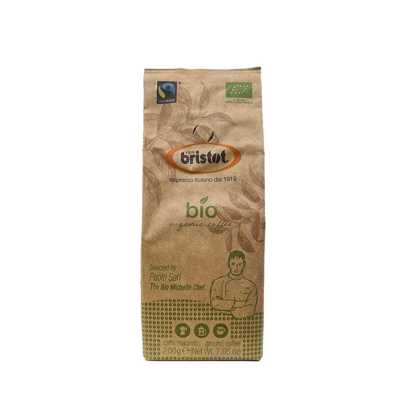 Bristot Bio Organic Coffee Ground 200g