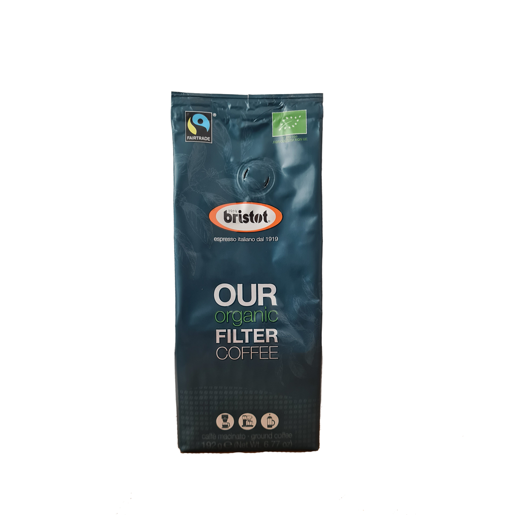 Bristot Our Organic Filter Coffee 192g