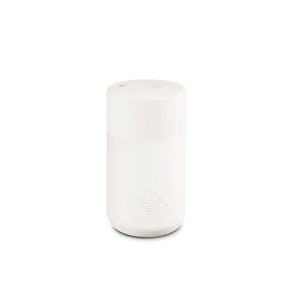 Frank Green Cup Cloud White Reusable Cup 340ml