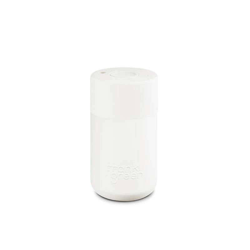 Frank Green Cloud White Reusable Cup 340ml
