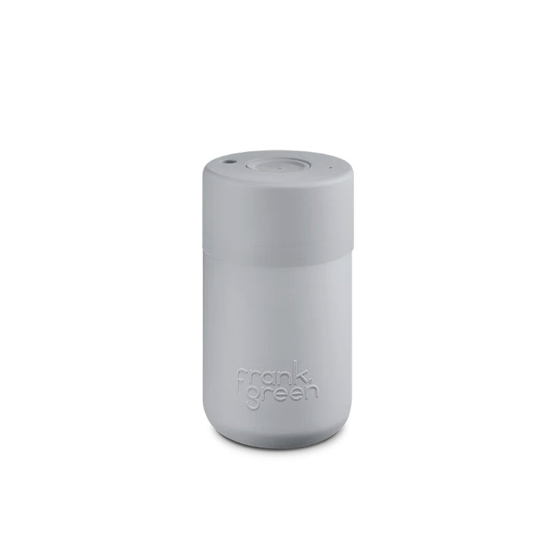 Frank Green Harbour Mist Grey Reusable Cup 340ml