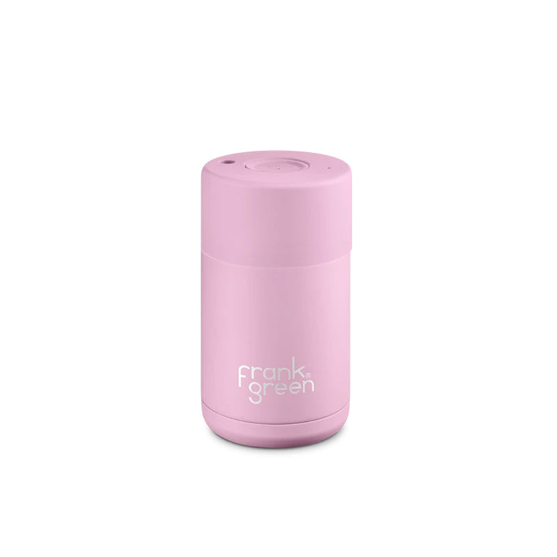 Frank Green Cup Lilac Haze Pink Ceramic Stainless Steel Cup 295ml
