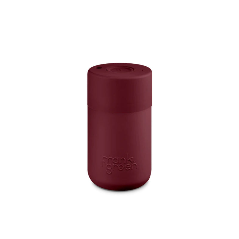 Frank Green Merlot Maroon Reusable Cup 340ml