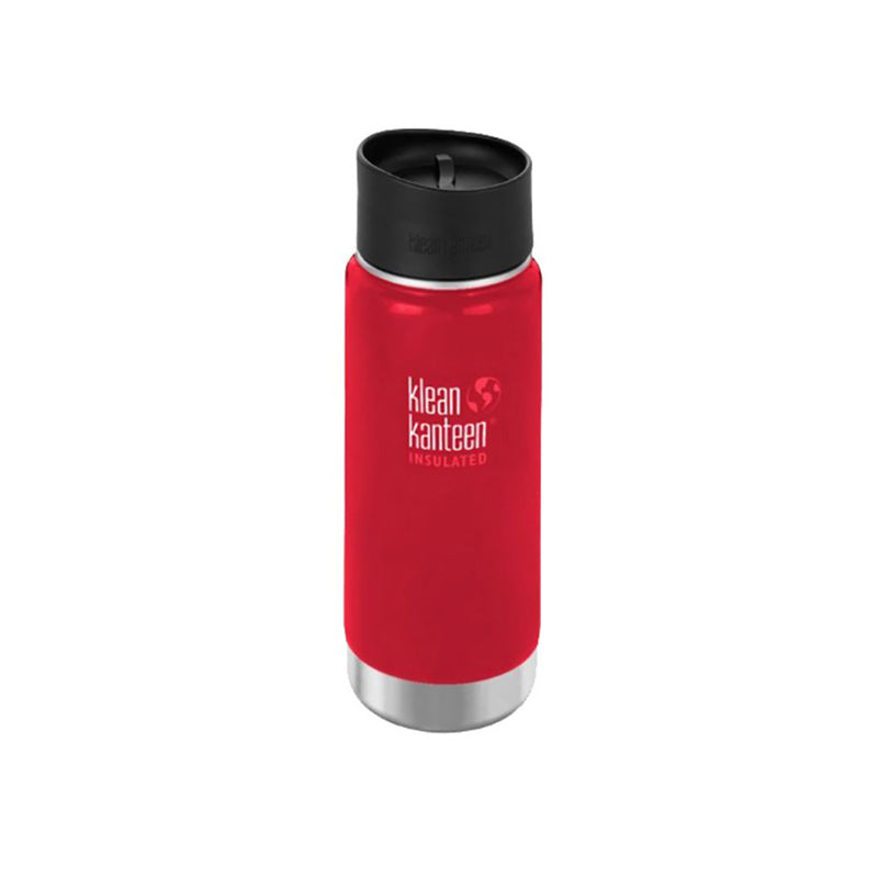 Mineral Red Klean Kanteen Insulated 475ml Coffee Cup Stainless Steel