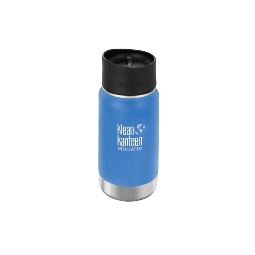 Sky Blue Klean Kanteen Insulated 355ml Coffee Cup Stainless Steel
