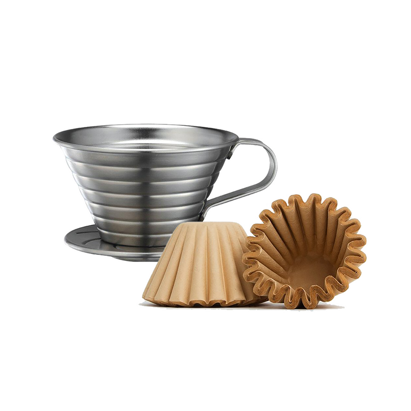Tiamo Stainless Steel Coffee Dripper