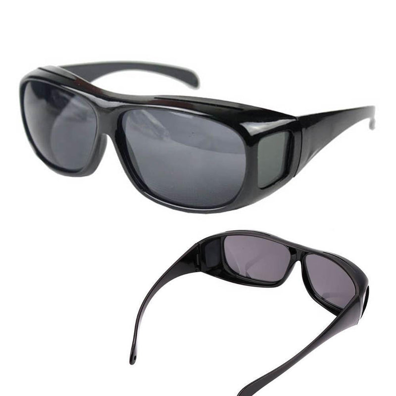 Bequee Anti-Glanz Sonnenbrille Fit-Over Überbrille - hallohaus