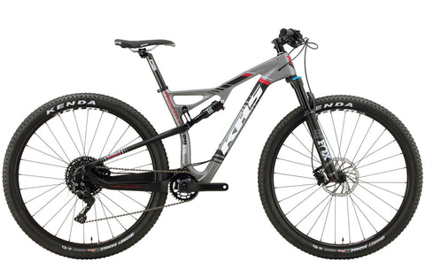 2019 KHS Prescott Full Suspension Mountain Bicycle