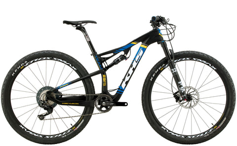 2019 KHS Team 29 Full Suspension XC Race Mountain Bicycle