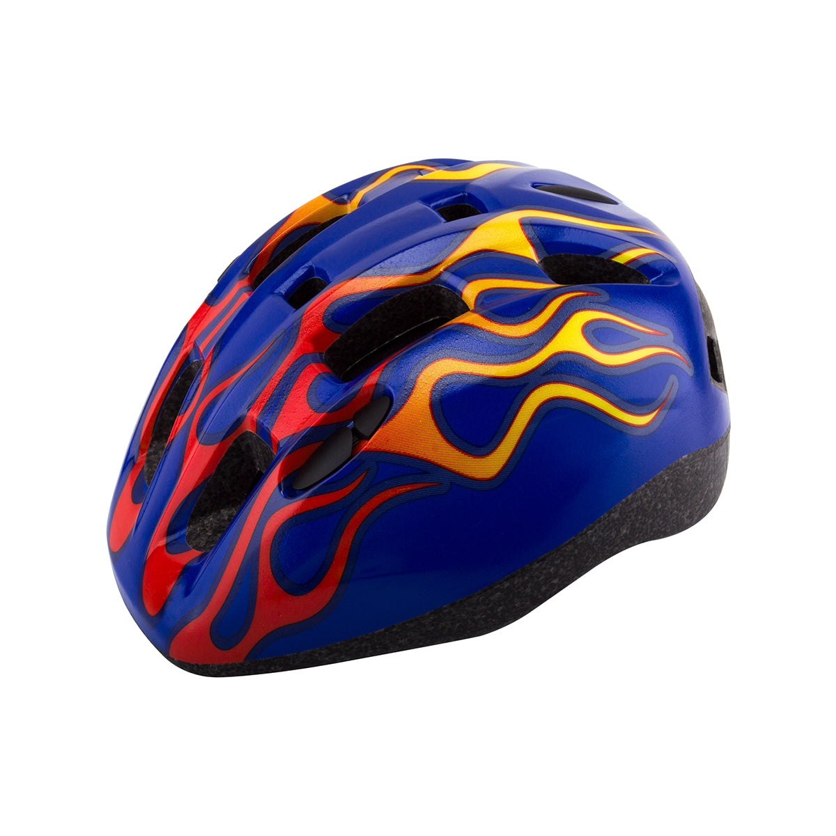 Aerius V11 Toddler Helmet - Blue/Flames