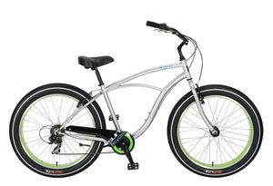 Sun Baja Cruz Fat Tire Cruiser Bicycle