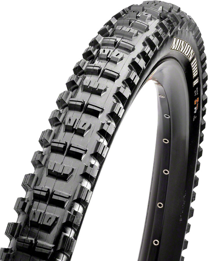 "Maxxis Minion DHR II Folding Tire: 27.5 x 2.30"", 60tpi, 3C, EXO, Tubeless Ready, Black"