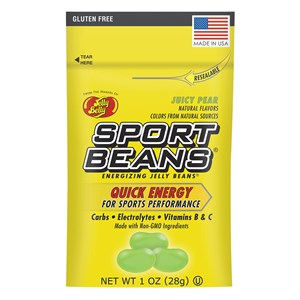 Sport Beans Energizing Jelly Beans - 1 Ounce Single Serving Packet