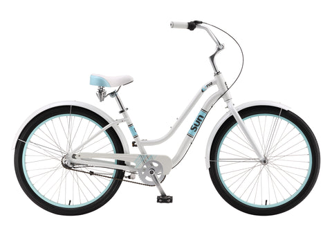 "Sun Cruz 3-Speed Ladies 26"" Cruiser Bicycle"