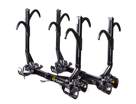Saris SuperClamp EX 4-Bike Hitch Rack. Includes BONUS GIFT.