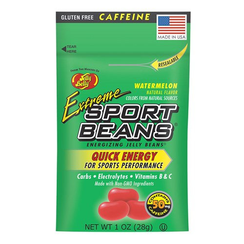 Sport Beans Extreme Energizing Jelly Beans - 1 Ounce Singe Serving Packet