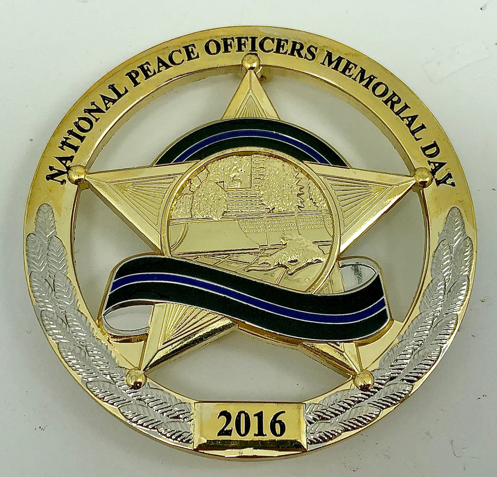 2016 National Peace Officers Memorial Day Commemorative Badge