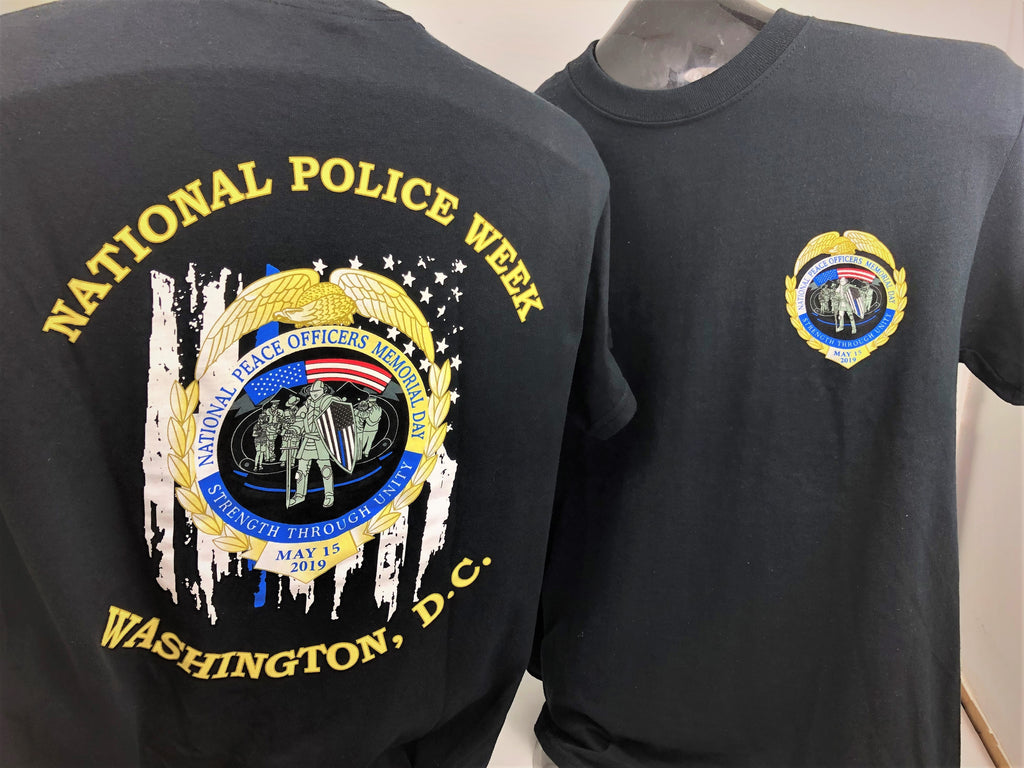 2019 National Police Week T-shirt SALE