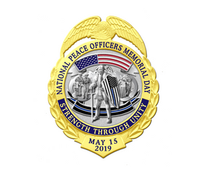 2019 National Peace Officers Memorial Day Commemorative Badge