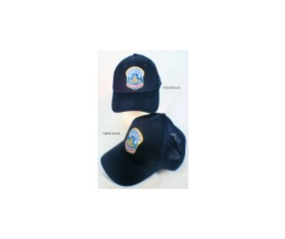 Metropolitan Police Shoulder Patch Logo Hat