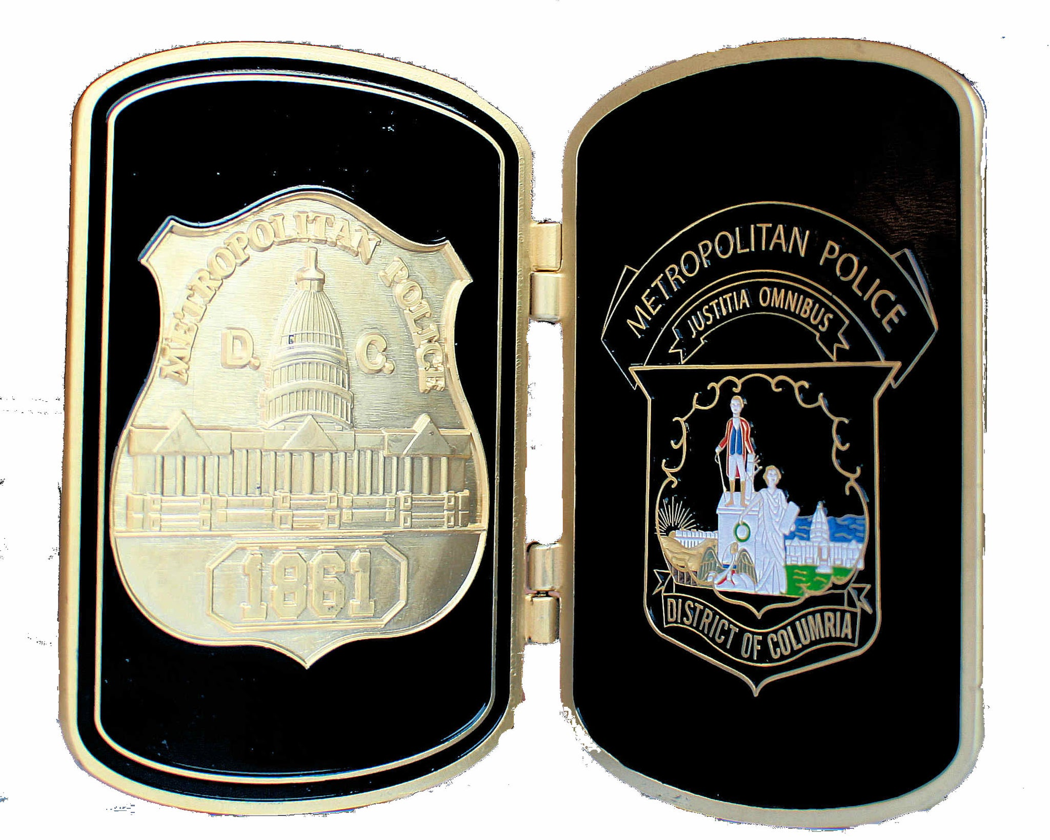 Metropolitan Police, Washington D.C. Call Box Replica Challenge Coin