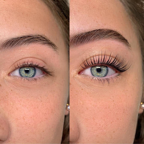 Nicky Lashes - Before&After