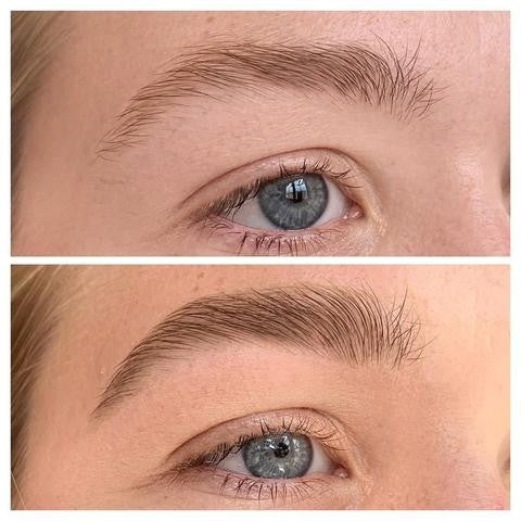 Tips on How to Manage Your Eyebrows / Before and After.