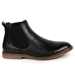 Metrocharm MC124 Men's Formal Dress Casual Ankle Chelsea Boot