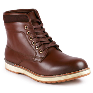 Metrocharm MC303 Men's Lace Up Oxford Ankle Chukka Sneaker Boot