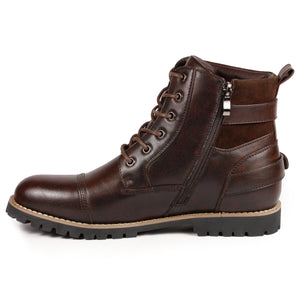 Metrocharm MC306 Men's Lace Up Classic Oxford Boot