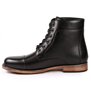 Metrocharm MC307 Men's Lace Up Cap Toe Dress Casual Fashion Oxford Boot