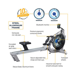 First Degree Fitness E350 Water Rowing Maching