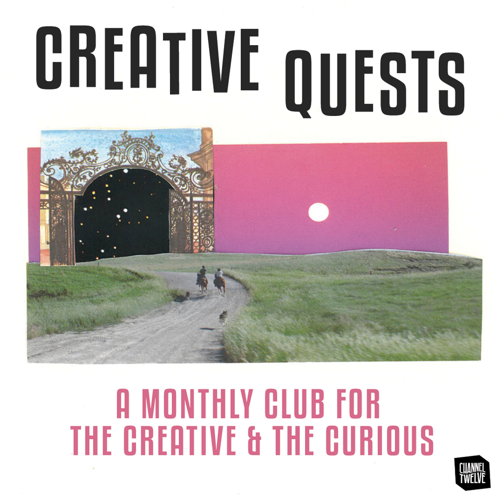 Photo collage of a creative club called Creative Quests