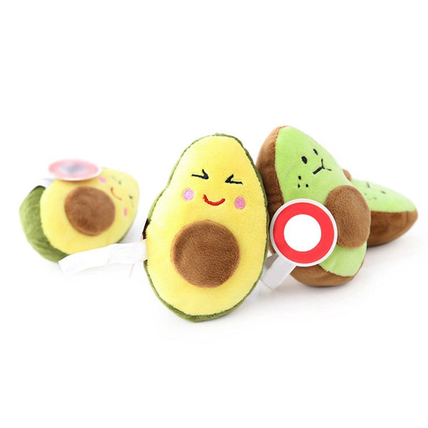 Puppy Avocado Plush Squeaker Toy - Pet Cache