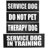 Set of Four Patches for Service Dogs - Pet Cache