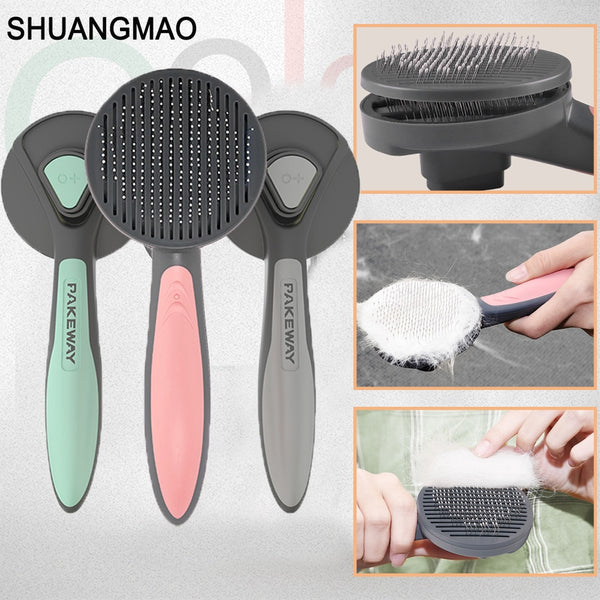 Pet Dog Hair Removal Grooming Comb - Pet Cache