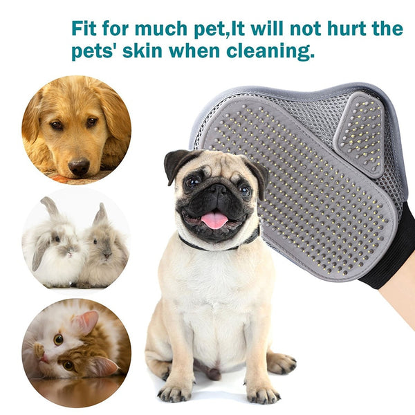Flexible Pet Brush Glove - Pet Cache