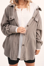 Cabin Fever Oversized Shacket