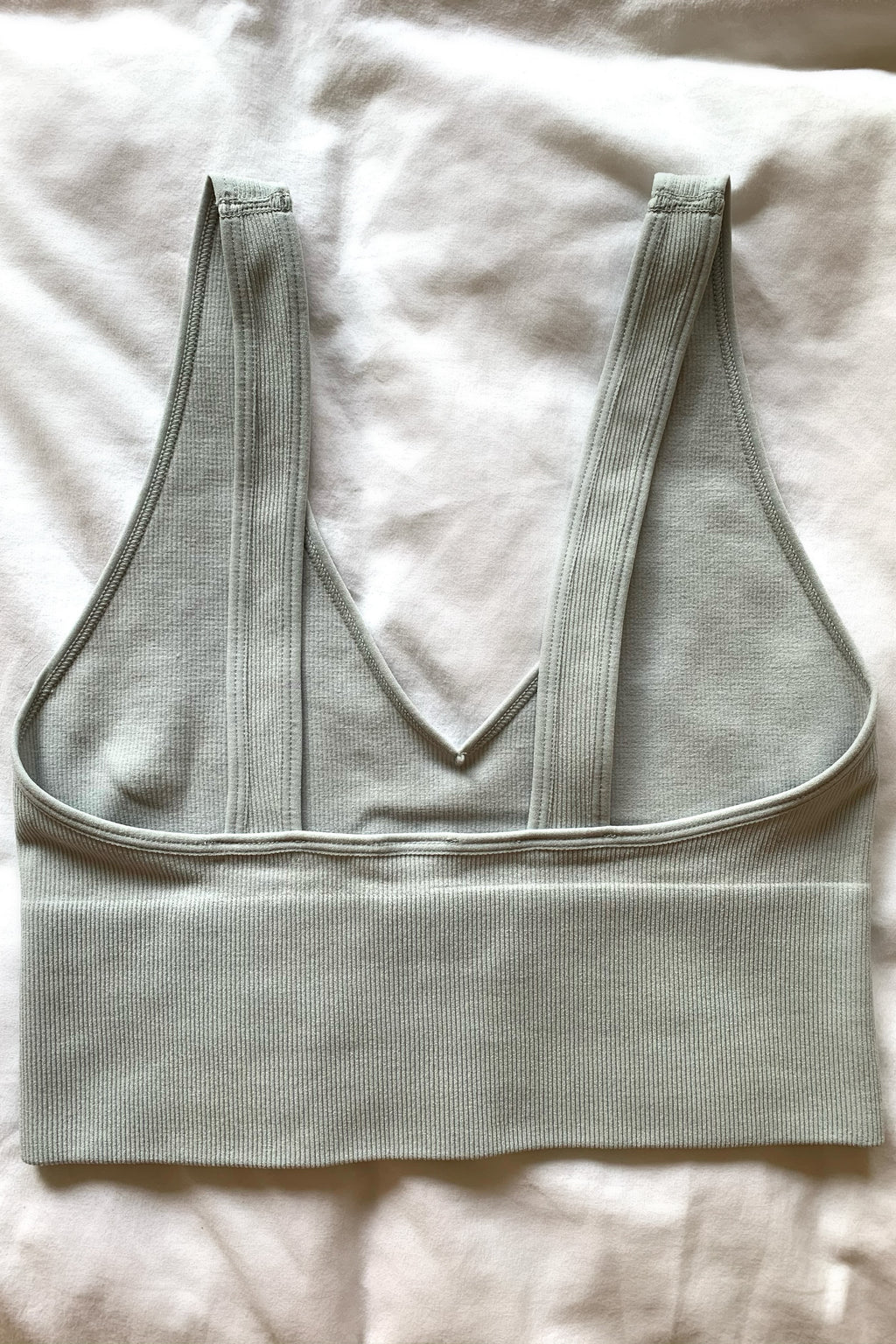 Angel Bralette Top- Light Grey