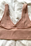 Angel Bralette Top- Light Pink