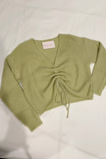 Begin Again Ruched Sweater