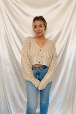Willow Cable Knit Sweater