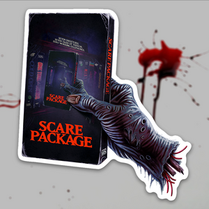 Scare Package - Sticker #2 (Hand Holding Tape)