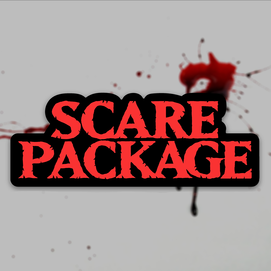 Scare Package - Sticker #1 (Title Treatment)