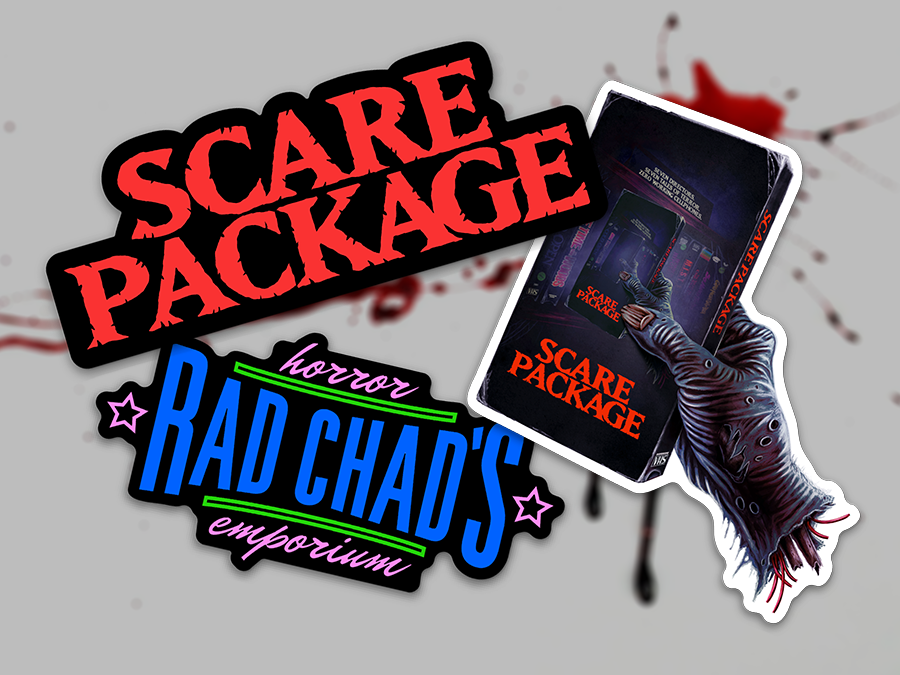 Scare Package - Sticker 3 Pack