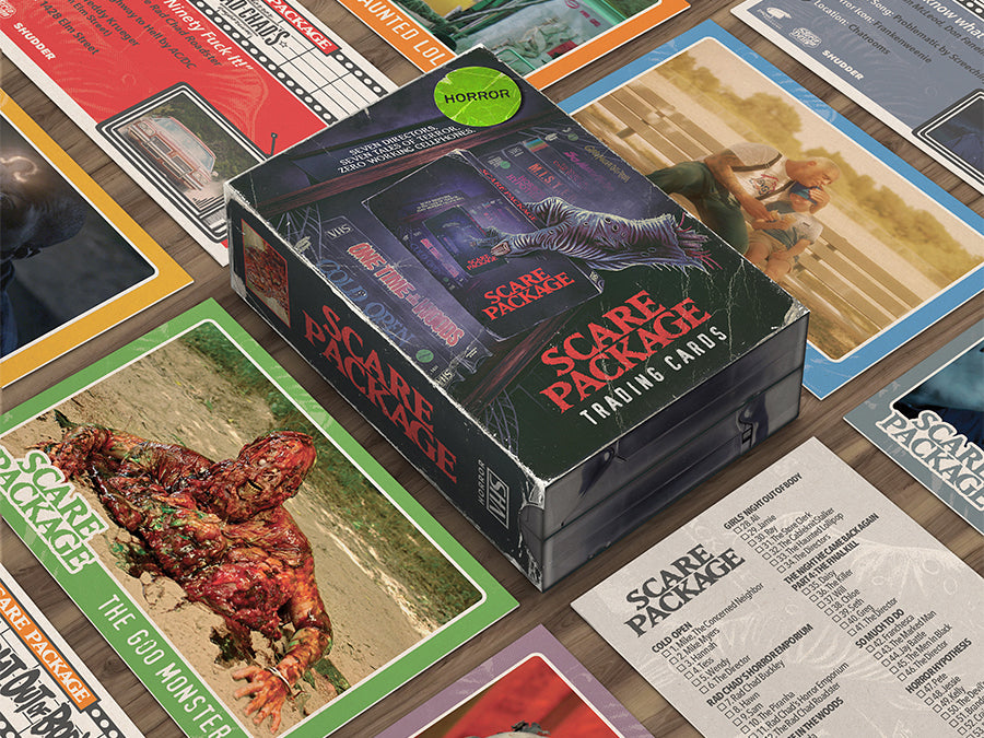 Scare Package - Complete Trading Cards Set (Pre-order)
