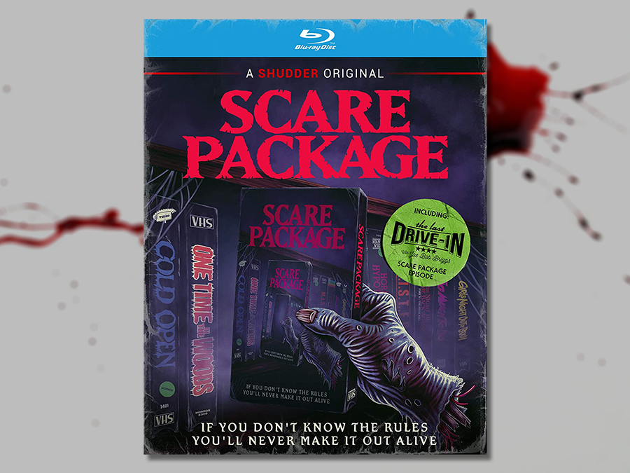 Scare Package - Official Blu-ray - SIGNED