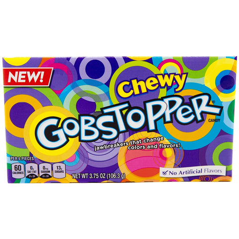 Chewy Gobstoppers Theatre Box (106g) Sugarliciousltd