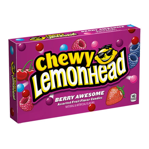 Chewy Lemonhead Berry Awesome Theatre Box (142g) Sugarliciousltd