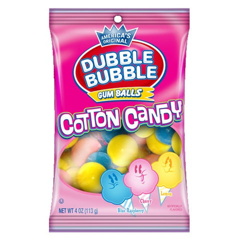 Dubble Bubble Cotton Candy Gumballs (113g) Sugarliciousltd